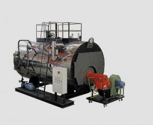 China ASME Exhaust gas oil-fired boiler on sale