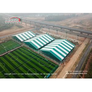 China 50m Width Huge Size Strong Aluminum Sport Event Tents Temporary Mobile Stadium PVC Sidewalls on sale