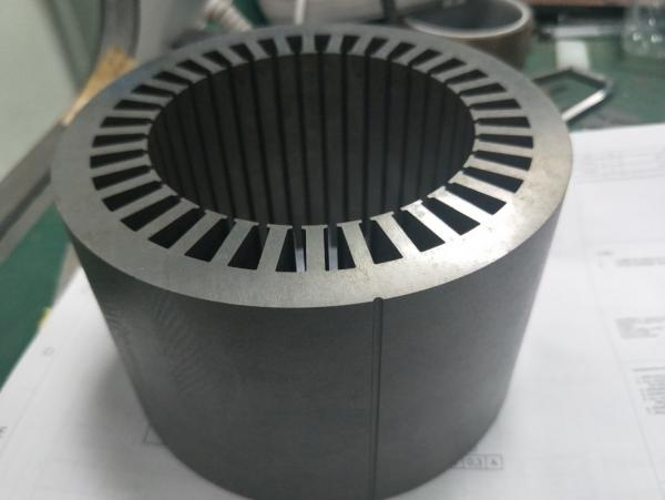 bonded BLDC Motor stator and rotor for wheel hub motor and