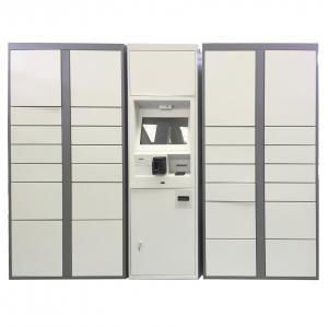 China Metal School Storage Train Station Airport Public Lockers With Smart Locks Credit Card Access on sale