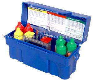 China Chlorine Test Kit Swimming Pool Accessories For Spa Water 7 - Way Test on sale