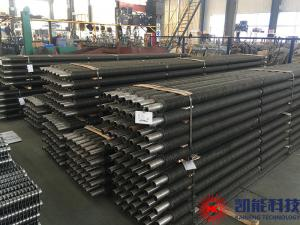 China Boiler Spiral Fin Tubes Replacement Enhanced Heat Transfer Element on sale