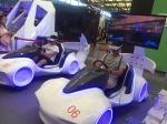 Popular Virtual Reality Racing Simulator , VR Motion Simulator For Entertainment