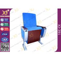 Pure Aluminum Alloy Structure Cinema Theater Chairs With Big Folding Dining Table