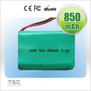 Quality Cordeless Phones NiMh Rechargeable Battery Pack 3.6V 900mah for sale