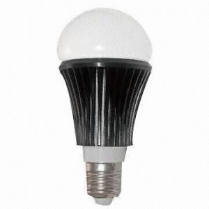 China LED Bulb, E27/E14/B22/E26 Available, Aluminum and PC Body on sale