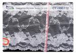100% Nylon Lace Fabric , High Tenacity for Garment , Dress CY-HB0112