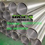 Galvanized  welding ring  V-shape Slot Johnson Water Well Screens China Manufacturer
