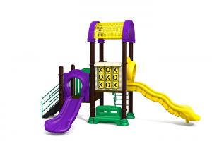 China Nature Style Custom Kids Play Equipment Simply Outdoor Play Structures on sale