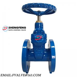 China DIN3352 DIN F4 PN16 PN25 DN100 type A ductile iron gate valve on sale