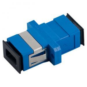 China SC/UPC Single Mode Simplex  Optic Fiber Adapter SC Connector on sale
