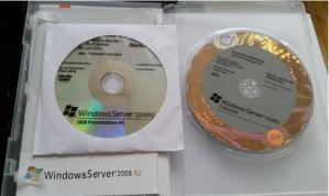 China OEM package 32bit 64 Bit DVD Microsoft Windows Server 2008 R2 COA sticker dvd disk Windows 2008 R2 Enterprise Edition on sale