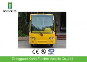 China Low Speed 48V 5KW Mini Electric Sightseeing Car / 8 Seats Electric Shuttle Bus on sale