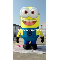 Free Shipping With Air Blower Advertising Figure Despicable Me Advertising Inflatable Minion 4 M