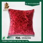 Red Color Festival 45x45 Bedroom Decorative Pillow Covers For Household