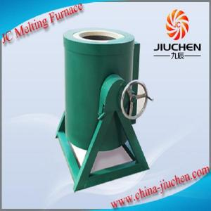 China JC 30kg Aluminum Ingot Induction Melting Furnace Price Electric Oven on sale