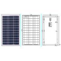 TUV/IEC Certificate poly solar panel soalr module 40W