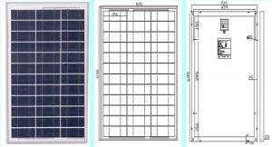 China TUV/IEC Certificate poly solar panel soalr module 40W on sale