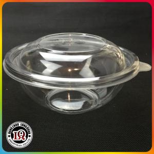 China Wholesale Translucent Plastic Salad Bowl With Dome on sale