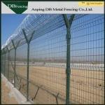 Low Carbon Steel Wire Welded Metal Fence Panels Corrosion Resistance Anti - Aging