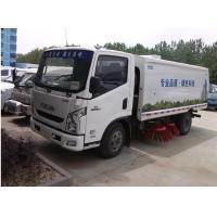 IVECO Yuejin brand 4x2 LHD diesel Street Sweeping Truck for sale, factory sale best price Yuejin road sweeping vehicle