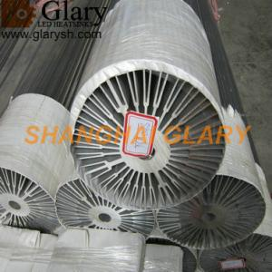 China GLR-HS-918 260mm high power round heatsink, aluminum profile extruded cooler on sale