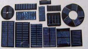 China small solar panel ,epoxy solar panel,mini solar cell on sale