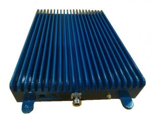 China Antenna Signal Booster Mobile Signal Repeater 37 DB Power Blue Metal Cover on sale
