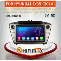 HIFIMAX Android 4.4.4 car radio dvd gps navigation for HYUNDAI ix35 2014 WITH Capacitive screen + 1024*600 resolution