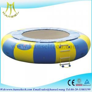 China Hansel New Arrival Orbit Water Trampoline Combo With Durable Material on sale