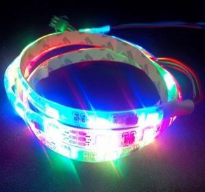China 32LED 32IC built-in LED Magic color RGB LED Digital Strip WS2811 on sale