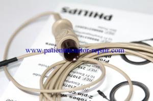 China Medical Spare Parts PHILIPS M21078A Autoclvable Temperature Probes With 2-Pin Connectors on sale