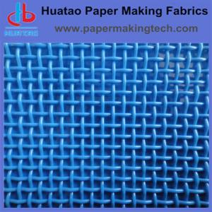 China Polyester plain fabric for paper making, on sale