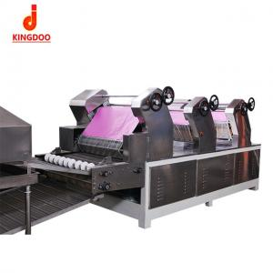 China Easy Maintenance Noodle Production Line Stainless Steel Material Low Fault Rate on sale