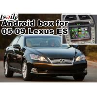 Lexus ES240 ES350 2005-2009 Android Navigation Box mirror link video interface rear view