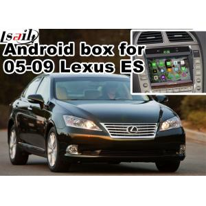 China Lexus ES240 ES350 2005-2009 Android Navigation Box mirror link video interface rear view on sale