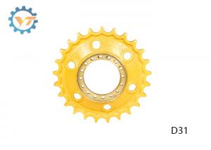 China OEM Drive Sprocket Bulldozer Undercarriage Parts With 4-10 Mm HRC Depth on sale