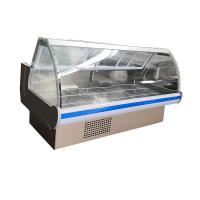 China R134a Refrigerant Deli Display Fridge Serve Over Display 200cm With Inner Top LED Lighting on sale