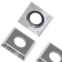 China RTing 14mm Square Carbide Inserts Cutter for Wood Working & Turning,(14mm lengthX14mm widthX2.0 thick),Pack of 10 on sale