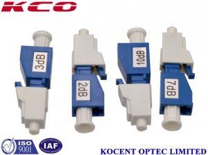 China 7DB Fiber Optic Attenuator , LC Male To Female Fixed Optical Attenuator on sale