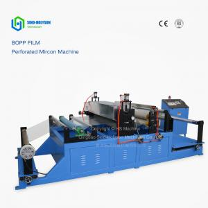 China Sinohs CE ISO Plastic Bopp Film Perforation Machine, Holiday Promotion! on sale