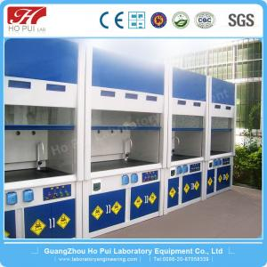 China School Laboratory Fume Hood Cold Rolled Steel Epoxy Resin Coating on sale