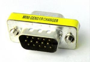 China HD15 VGA male to female adapter on sale