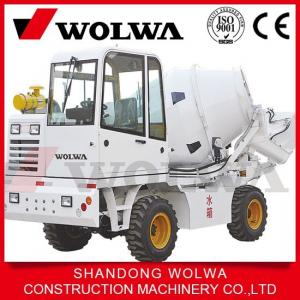 China Hot sale concrete mixer truck 1.2cbm from China Wolwa factory on sale