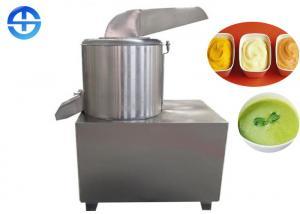 China Stainless Steel Ginger Garlic Paste Machine Large Capacity 600-1000 kg/h on sale
