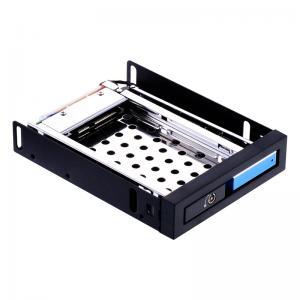 China 2.5 single bay SATA hard drive rack backplane internal  enclosure hdd mobile rack on sale