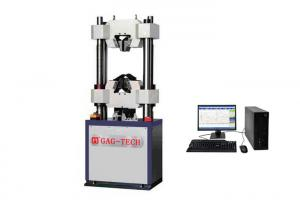 China 650mm Space UTM Tensile Testing Machine / Metal Testing Equipment With Tensile Grip on sale