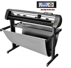 China 48 Contour Cutting Plotter Automatic Vinyl Plotter Printer With 3 Roland Blades on sale