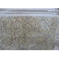 China Tiger Skin Gold Yellow  Granite Countertop Tiles , Granite Kitchen Tiles Polished on sale