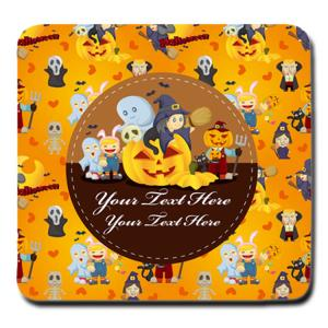China Plastic Sublimation Custom Printed Coasters , Personalized Drink Custom Bar Coasters on sale